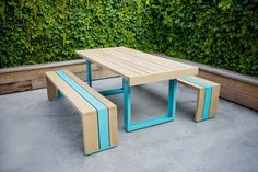 picnic table by Scout Regalia