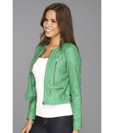 Grey Leather Jacket, Green Jacket, Sweaters, Jackets, Fashion, Green Parka, Down Jackets, Moda, Green Blazer