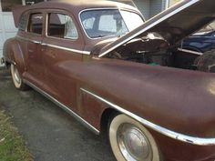 Out of Deep Storage: 1948 DeSoto - http://barnfinds.com/out-of-deep-storage-1948-desoto/