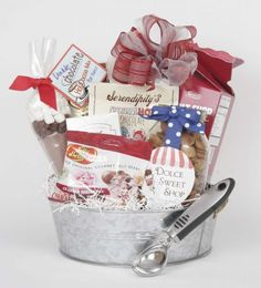 Image only pin- ice cream gift basket