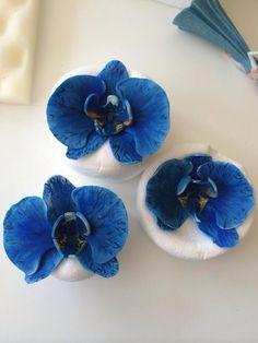 Orkideet fondant flower