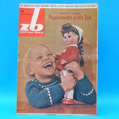 DDR Zeit im Bild ZB NBI 51/1963 Spielzeug Puppen Sonneberg Görlitz Warzenschwein | eBay