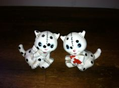 Vintage Salt and Pepper Shakers Lot 3 Pairs Cats Collectibles Black Cats   eBay