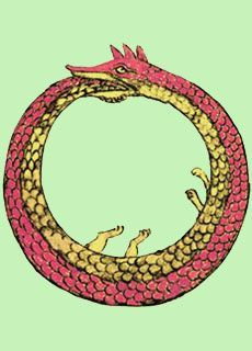 Ouroboros on Pinterest | Sacred Geometry, Eternal Return and Alchemy