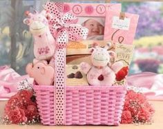 baby gift basket ideas by baby shower card ideas