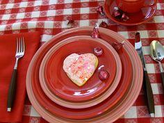 Valentine's Day Fiestaware.