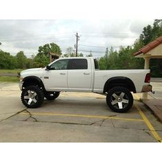 Dodge Ram trucks - lifted with love