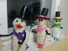 Snowman, Disney Characters, Crochet, Party, Fabric, Crafts, Haku, Google, Noel