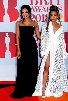 Jade & Leigh Anne at the 2018 Brit Awards!!!! ❤️