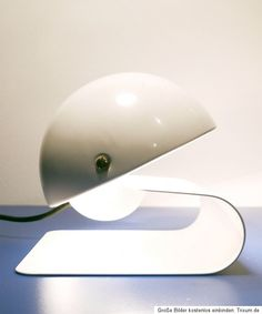 1970s VINTAGE GUZZINI TABLE LAMP 'BUGIA' DESIGNED BY GIUSEPPE CORMIO