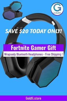 "FREE SHIPPING!  Looking for wireless headphones that really make a statement? Allow us to introduce you to the Wrapsody™ Bluetooth Headphones. Equipped with omnidirectional bass, an advanced microphone, and 85% noise cancellation capabilities that deliver high-definition stereo sound.  • Dimensions: 7.8"" x 6.8"" x 3.1"" -------------------------------------------------- #gamergifts, #gamergiftsforhim, #gamergiftsboyfriends, #gamergiftsboys, #goldfisore, #giftsforgamerboys… Gifts For Gamer Boyfriend, Gamer Gifts, Couple Shirts, Boys Shirts, Family Shirts, Birthday Shirts, Girl Birthday, 9th Birthday, Happy Birthday Printable"
