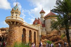 Under the Sea ~ Journey of the Little Mermaid ride in New Fantasyland, via Flickr.