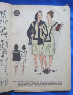 vintage Lutterloh Golden Rule DER THERMO SCHNITT drafting sewing patterns book | eBay