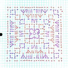 Sarah square diagram on Cypresstextiles.net