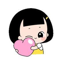 Cartoon Gifs, Baby Cartoon, Animated Cartoons, Animated Gif, Disney Kiss, Hug Gif, Funny Emoticons, Cute Asian Babies, Cute Cartoon Pictures