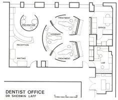 dentist office floor plan