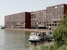 Diener & Diener Hoogtij Apartments, Java Eiland, Amsterdam, 2000