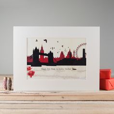Skyline Mounted Print by Alice Palace, the perfect gift for Explore more unique gifts in our curated marketplace. Creative Studio, Creative Business, Happy New Home, Dream City, Creative Industries, Surface Pattern Design, Creative Photography, All Design, Personalized Gifts