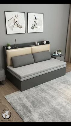 Sofa Bed Design, Living Room Sofa Design, Bedroom Bed Design, Bedroom Sofa, Bedroom Furniture Design, Living Room Designs, Furniture Sets, Furniture Vintage, Vintage Dressers