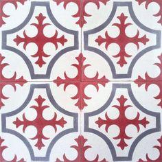 Mosaico Hidráulico/Encaustic Cement Tiles Mod.190 Floral
