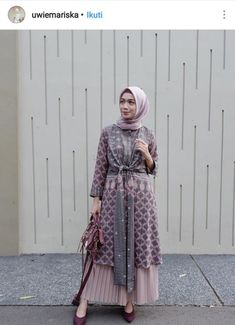 new Ideas womens fashion dresses modest products Batik Fashion, Abaya Fashion, Modest Fashion, Women's Fashion Dresses, Dress Outfits, Blouse Batik, Batik Dress, Traditional Fashion, Traditional Dresses