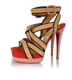 Christian Louboutin Shoes Straratata 140mm Yellowred