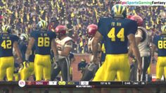 The San Diego State Aztecs VS The Michigan Wolverines In A NCAA Football 10 Football Match This video showcases Gameplay of The San Diego State Aztecs VS The Michigan Wolverines In A NCAA Football 10 Football Match