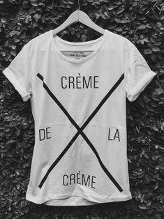 Remera Hombre Crème de la Crème Blanca http://www.cremedelacreme.com.ar/hombre/remeras2/remera-creme-de-la-creme-blanca/