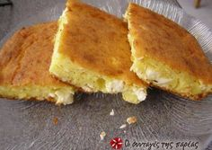 Lazy cheese pie (without filo) Recipe by Cookpad Greece Pureed Food Recipes, Greek Recipes, Pie Recipes, Cooking Recipes, Greek Cooking, Cooking Time, Filo Recipe, Savory Muffins, Cheese Pies