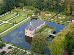 Borg Verhildersum in Leens Luxury Homes Dream Houses, Castle House, Grand Homes, Short Break, Medieval Town, Live In The Now, Aerial Photography, Netherlands, Dutch