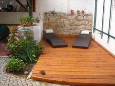 sundeck Farmhouse, Patio, Outdoor Decor, Garden, Home Decor, Homemade Home Decor, Yard, Terrace, Rural House
