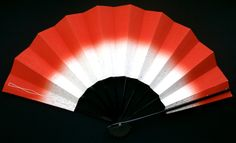 Japanese Fan Vintage Paper Mai Ogi Sensu F197 by VintageFromJapan