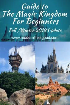 Guide to The Magic Kingdom for Beginners is an essential guide for first-time visitors & experienced travelers updated for Fall & Winter Viaje A Disney World, Disney World Florida, Disney World Vacation Planning, Walt Disney World Vacations, Have A Great Vacation, Great Vacations, Disney World Tips And Tricks, Disney Tips, Magic Kingdom Tips