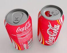 Coca Cola Can 3D Model