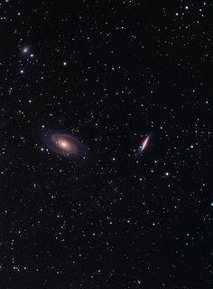 M81& M82 | by astrochuck