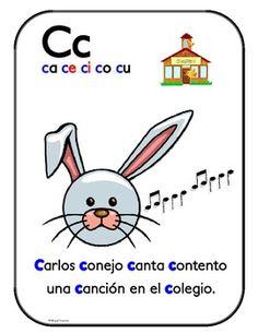 Asombroso alfabeto de aliteracion Posters - Bilingual Treasures - TeachersPayTeachers.com