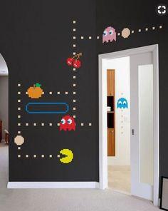 Déco gamer pour chambre enfant ou couloir