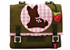 Kindertasche 'Kitz' mit Filzapplikation von la fraise rouge