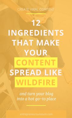 """Want to crack the code of creating content that makes people """"I need to share this"""" Here are the 12 ingredients your posts need to engage your audience and boost your shares! Content Marketing Strategy, Business Marketing, Email Marketing, Business Tips, Online Business, Affiliate Marketing, Digital Marketing, Marketing Books, Business Branding"""