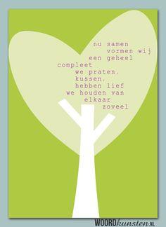 Liefde, samen een geheel zijn.