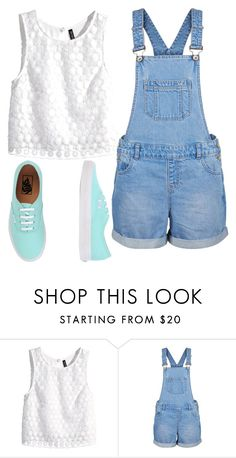 """Untitled #124"" by naysoutfitinspiration ❤ liked on Polyvore featuring H&M and Vans"