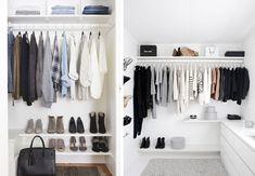 Mini walk-in-closet - åben garderobeskab | Boligmagasinet.dk