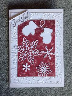 Annas kort och hantverk: Julkort