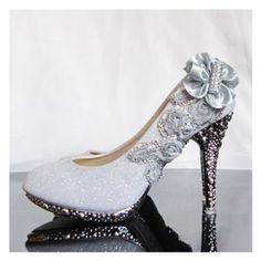 Nuevos Elegantes de llegada y la dignidad Rhinestone Embellished zapatos de boda para novias para Vender - La Tienda En Online IGOGO.ES