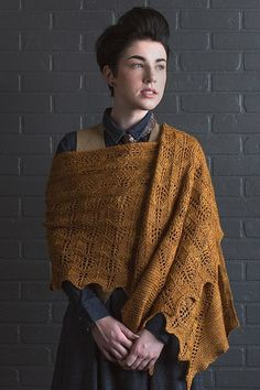 Enjoy this beautiful knitted shawl pattern all year long.