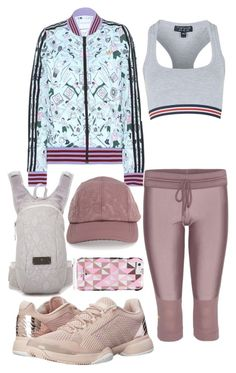 """Outfit #191"" by sofi6277 ❤ liked on Polyvore featuring adidas, Topshop, Kate Spade, women's clothing, women, female, woman, misses and juniors"