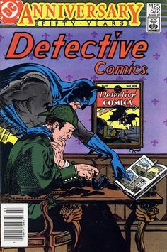 DETECTIVE COMICS #572. DC, 1937 Series. Source: http://www.comics.org/issue/42649/
