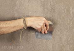 Штукатурка стен. Новые виды отделочных растворов: микробетон, мраморная штукатурка