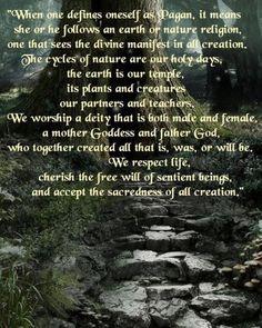 Being Pagan
