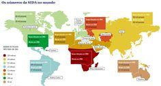 Os números da SIDA no Mundo - http://www.jn.pt/multimedia/infografia970.aspx?content_id=2160974